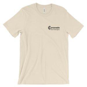 Coronado Classic Men's/Unisex Short Sleeve T-shirt - Creme (front)