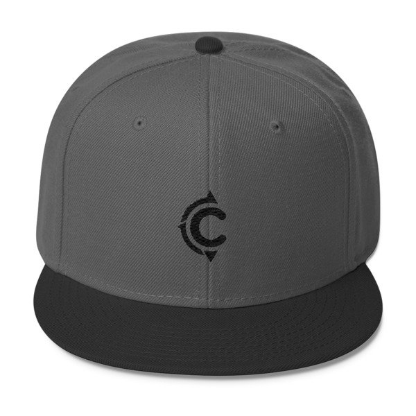 Coronado Island Cruiser Hat (Dark Grey-Black/ Black thread)