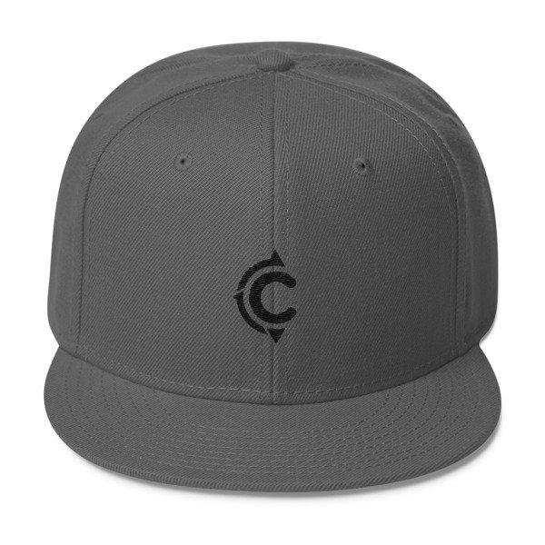 Coronado Island Cruiser Hat (Dark Grey/ Black thread)
