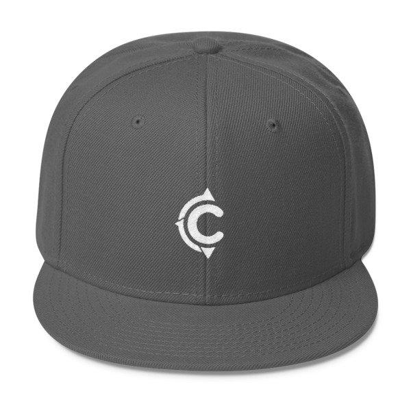 Coronado Island Cruiser Hat (Dark Grey/ White thread)