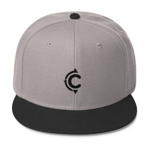 Coronado Island Cruiser Hat (Grey-Black/ Black thread)