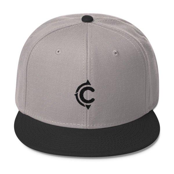 Coronado Island Cruiser Hat (Grey-Black/ Black thread)