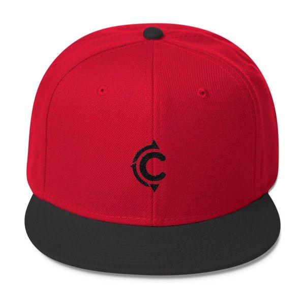 Coronado Island Cruiser Hat (Red-Black / Black thread)