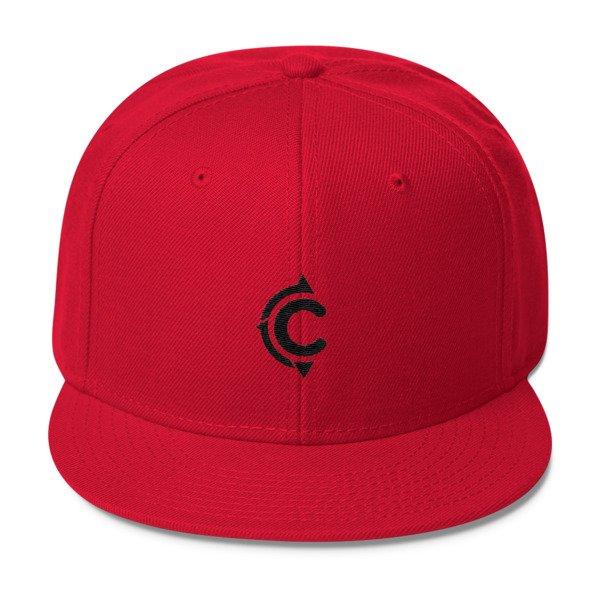 Coronado Island Cruiser Hat (Red / Black thread)
