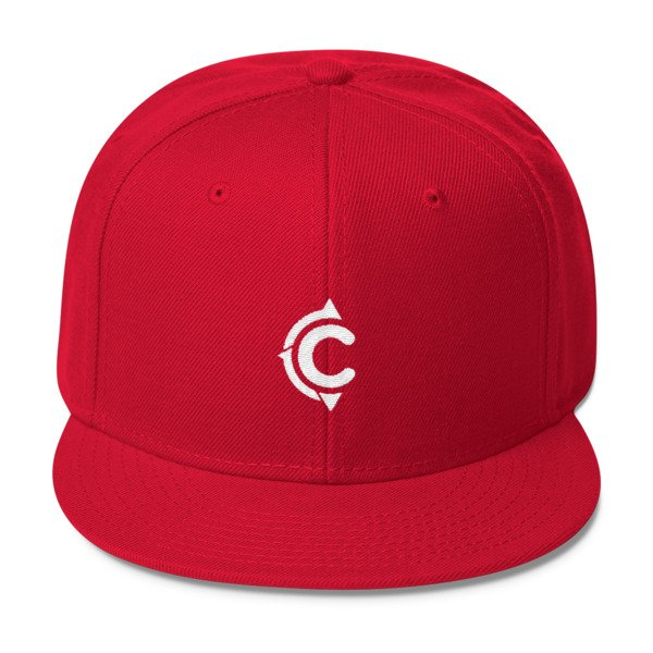Coronado Island Cruiser Hat (Red/ White thread)