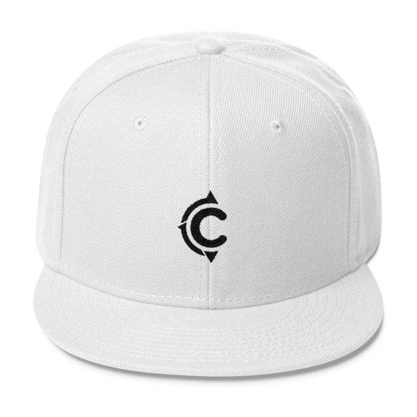 Coronado Island Cruiser Hat (White/ Black thread)