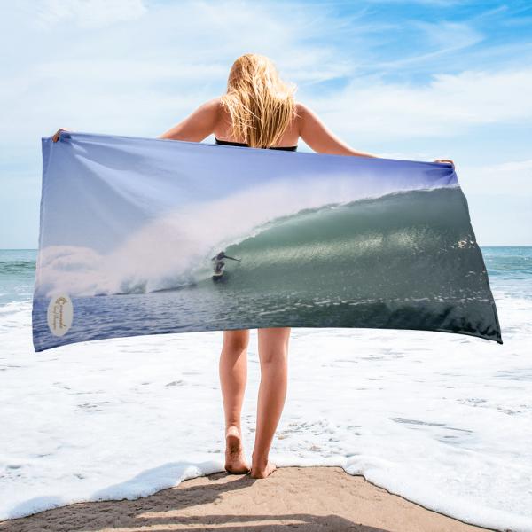 Coronado Island Big Barrel Beach Towel-2