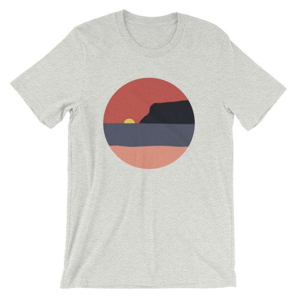 Coronado Island Sunset t-shirt Ash
