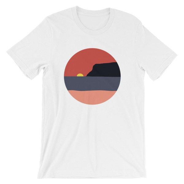 Coronado Island Sunset t-shirt White