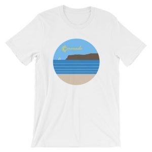 Coronado Sunny Weather Unisex short sleeve t-shirt (White)