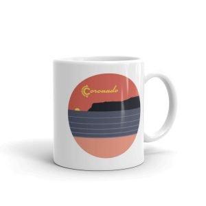 """Coronado Coffee Mug 11"""" (right view)"""