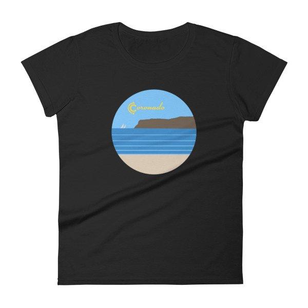 Coronado Sunny Weather Women's short sleeve t-shirt (black)