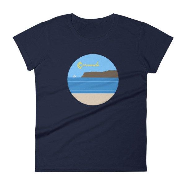 Coronado Sunny Weather Women's short sleeve t-shirt (navy)