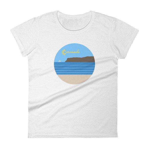 Coronado Sunny Weather Women's short sleeve t-shirt (white)