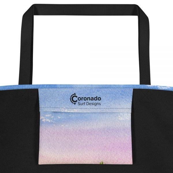 Coronado Hotel Del Beach Bag Inside Pocket