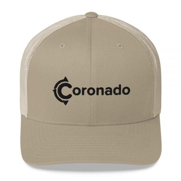 Coronado Trucker Hat (Khaki)