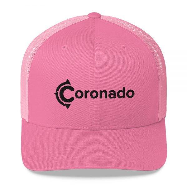 Coronado Trucker Hat (Pink)
