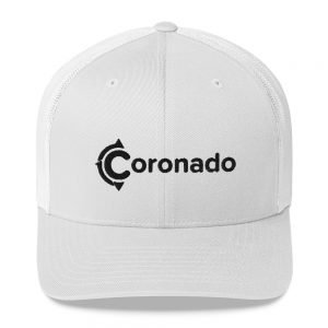Coronado Trucker Hat (White)
