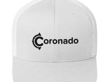 Coronado Trucker Hat (White)