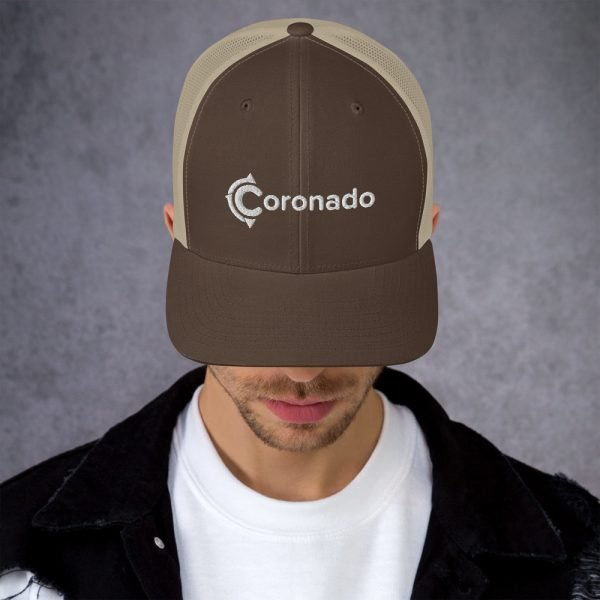 Men's Coronado Trucker Hat (Khaki)