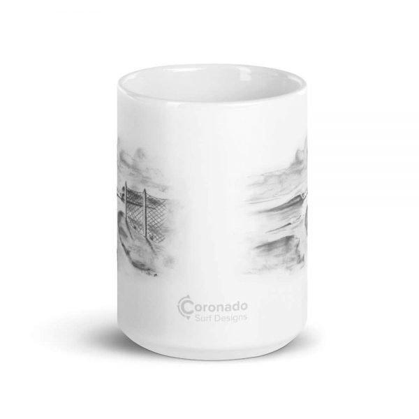 Outlet-Fence-Mug-Silver_mockup_Front-view_15oz
