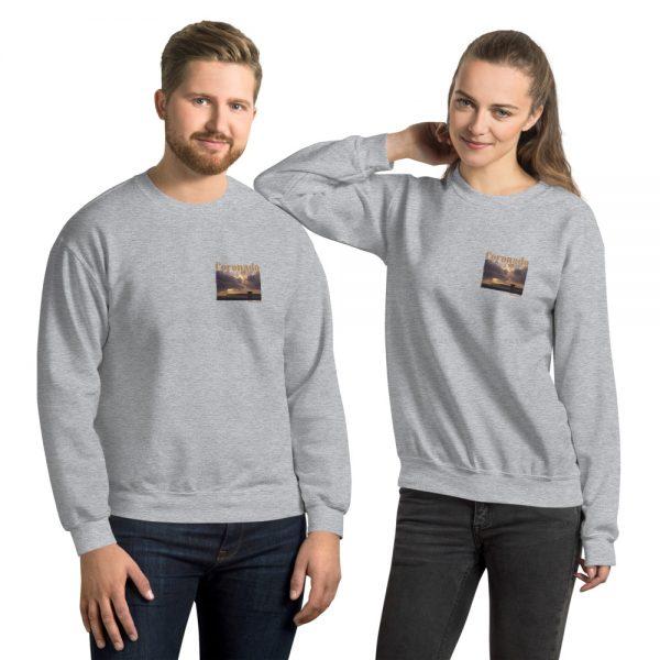 Coronado Lifeguard Tower Sweatshirt Unisex (Sport Grey)