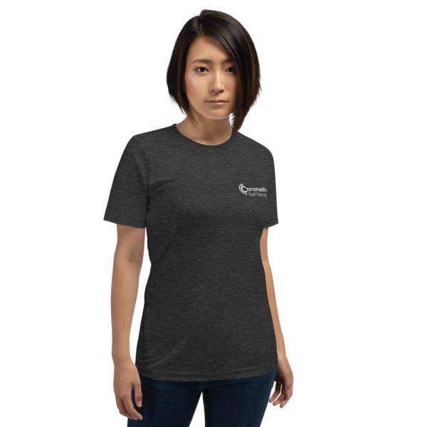 Coronado Classic Women's Short Sleeve T-shirt (Dark Grey Heather front)