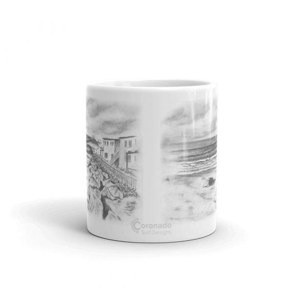 Pepperoni Point White glossy mug (11 oz)