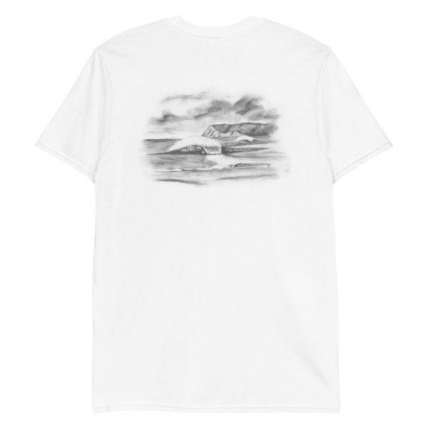 North Beach Peaks Short-Sleeve Unisex T-Shirt (back)