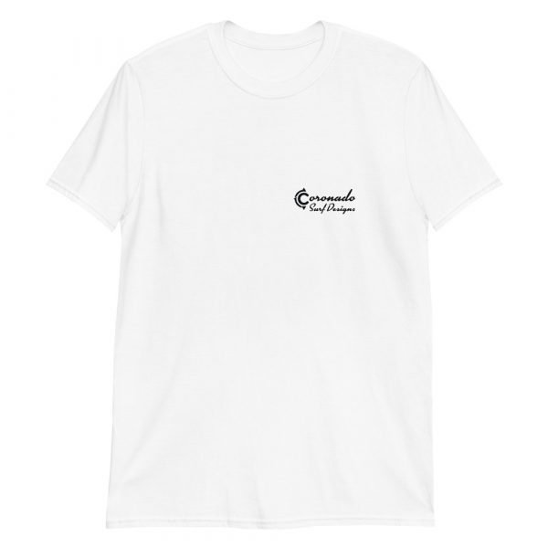 North Beach Peaks Short-Sleeve Unisex T-Shirt (front)