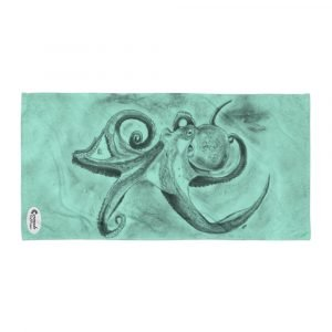 Octopus Ink Cloud Tropical Reef Towel