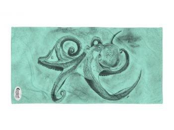 Octopus Ink Cloud Tropical Reef Towel