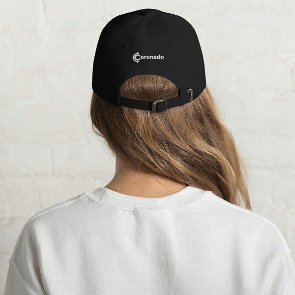 Coronado Island Cotton Hat black (back)