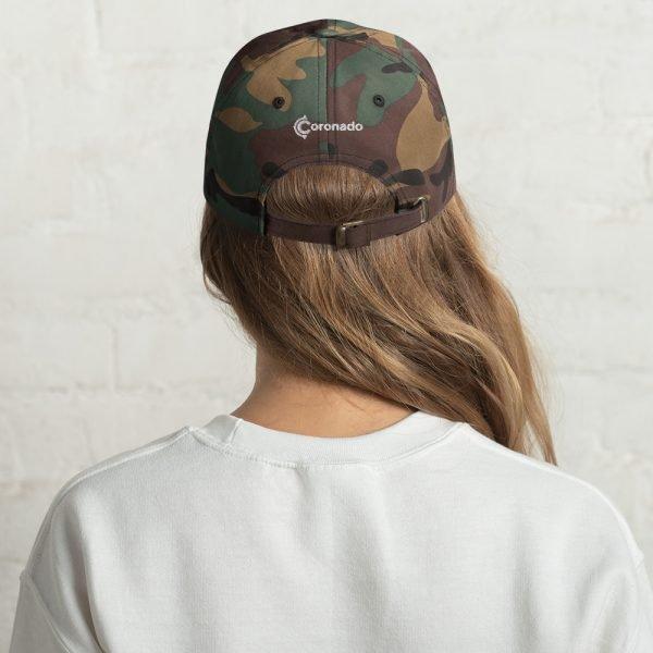 Coronado Island Cotton Hat camo (back)