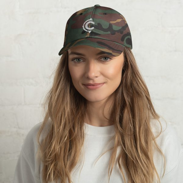Coronado Island Cotton Hat camo (front)