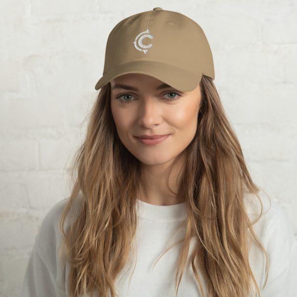 Coronado Island Cotton Hat khaki (front)