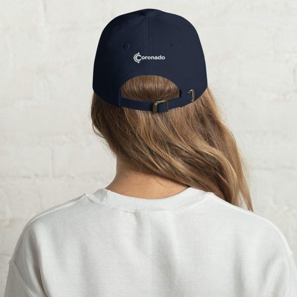 Coronado Island Cotton Hat navy (back)