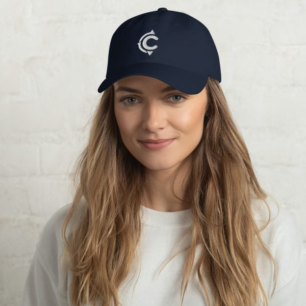 Coronado Island Cotton Hat navy (front)
