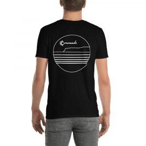Coronado Outlines Short-Sleeve Unisex T-Shirt (Darks) Black back