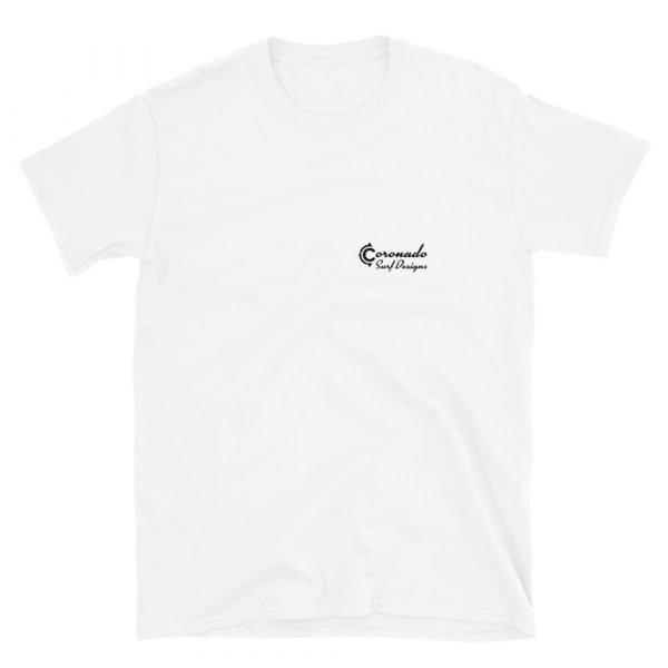 Imperial Beach Pier Northside Short Sleeve Unisex T-shirt (front)